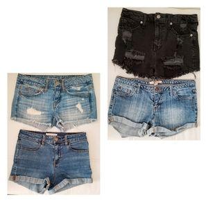 Bundle of Denim Jean Shorts
